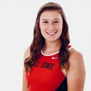 Ball State University athlete Megan lost her mom to cancer but lives in hope.